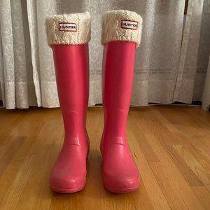 Hunter Original Tall Rain Boot Pink